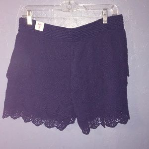 Lace shorts for Girls